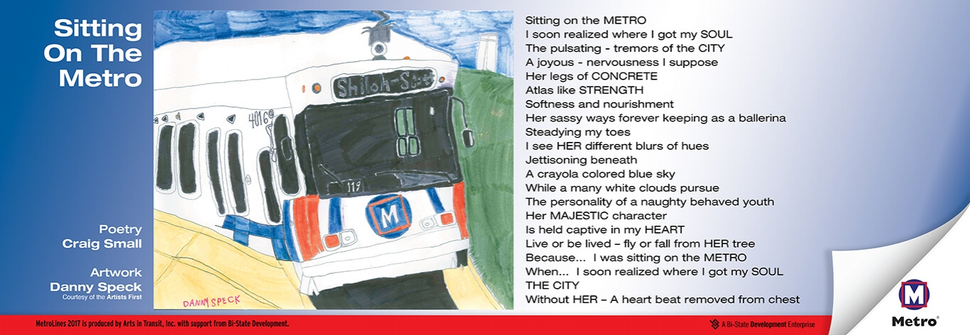 """Sitting on the Metro"" by Craig Small"