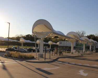 North County Transit Center Bus Canopies